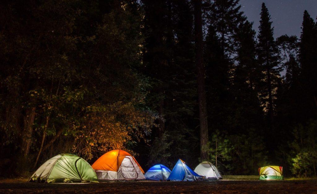 Adventure Camping at Carrington Lakes