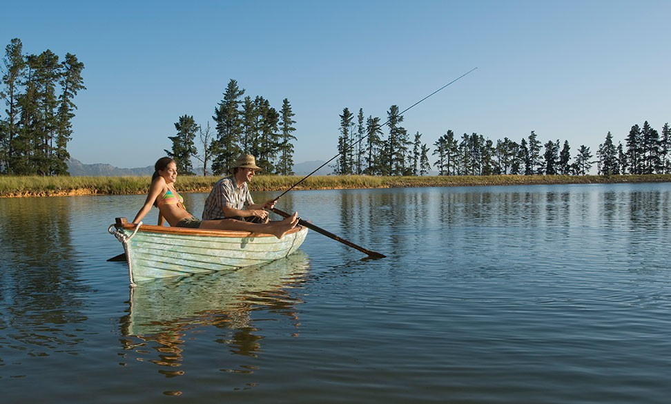 couple fishing